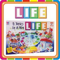 Life El Juego De La Vida - Hasbro - Original - Mundo Manias