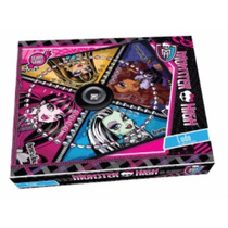 Ludo Matic Con Cubilete Monster High Tv.