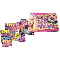 Barbie Multijuegos 3 En 1 Memo Loteria Y Domno Tapimovil