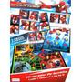 Avengers Spiderman 3en1 Juegos Dominó Tateti Ludo Original !