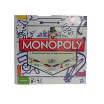 Juego De Mesa Monopoly Clasico De Hasbro 2-6 Jugadores