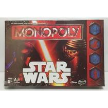 Juego Monopoly Star Wars Disney Hasbro Gaming Xml 15029