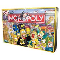 Monopoly The Simpsons Original Hasbro Sipi Shop