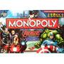 Juego Mesa Monopoly Marvel Avengers Original.