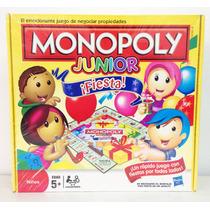 Monopoly Junior Fiesta Juego De Mesa Para Niños Hasbro