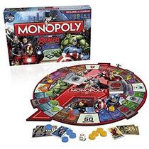 Juego Monopoly Avengers Marvel Xml 15006