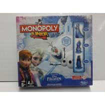 Juego Monopoly Junior Frozen Disney Xml 15009