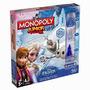 Juego De Mesa Monopoly Junior Frozen Disney Hasbro