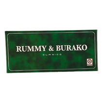 Rummy & Burako Clasico Ruibal Juego De Mesa !