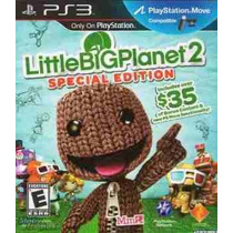 Little Big Planet 2, Nuevo, Sellado, Audio Espanol, En Stock