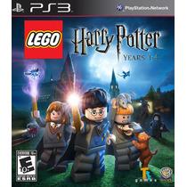 Lego Harry Potter Years 1-4 - Juego Ps3 Box Original