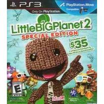 Little Big Planet 2, Nuevo, Sellado, Audio Espanol, En Stock