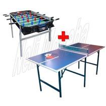 P R O M O -25% Metegol Estadio Profesional + Mesa Ping Pong