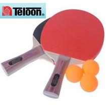 Paleta Ping Pong, Set 2 Paletas + 3 Pelotitas, ¡¡ Liquido !!