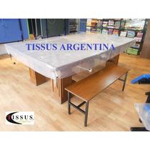 Pool Funda Para Mesa Hasta 2.60 X 1.40 Mts Tissus Argentina.