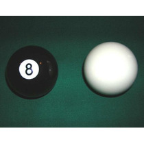 Bolas De Pool, Blancas Y Negras $50 C/u.