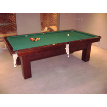 Mesas Antiguas De Pool Snooker Brunswich