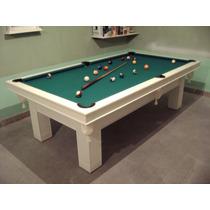Bp Mesa De Pool Laqueada