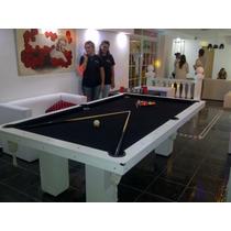 Mesas De Pool Profesional 250 X 140 Colores A Elección