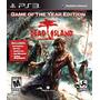 Dead Island Game Of The Year Ps3 Nuevo Sellado Original