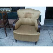 Juego de sillones antiguos franceses tapizados a nuevo for Sillones antiguos tapizados