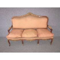 Sillon Colonial Frances Luis Xv, Sillones, Living, Muebles