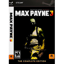 Max Payne 3 Complete Edition - Pc - Steam - Original