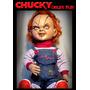 Muñeco De Chucky 75 Cm De Alto, Disfraz Halloween, Mascara