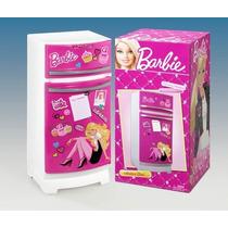 Heladera Barbie Con Accesorios + 3 Años Miniplay