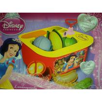 Pileta Lava Vegetales Disney Princesas