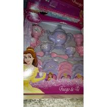 Set De Te Princesas Disney Completisimo
