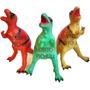 Dinosaurio Tiranosaurio Rex Goma 29 X 25 Cm Mataderos