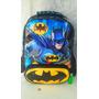 Articulo 9162 Mochila Batman De 15 Pulgadas Nuevo