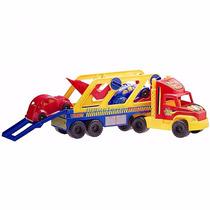 Duravit Camion Transporte Con 2 Autos ...en Magimundo !!!!!