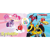 Transformers Coleccion Mc Donalds 2015