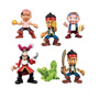 Figuras Jake-garfio Piratas Nunca Jamas Fisher Price Set X3