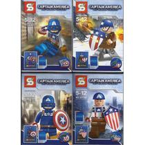Capitan America Para Armar X 8
