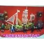 Barco De Piratas Con Luces Y Sonido En Agranaditos