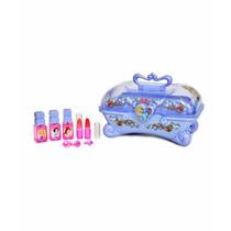 Estuche Maquillaje Disney Princesas Beauty Case Y Accesorios