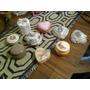 Lote De Alhajeros Antiguos Con Tapa Ceramicas Surtidas