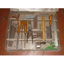 Antiguo Juego Carpintero Carpenters Tools 1950 (4186)