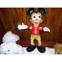 Mickey Antiquisimo Muñeco De Goma Año 60 Mira!!!!!!!!!!