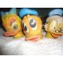 3 Cabezas De Titeres De Pato Donald ,daisy Y Tio Rico