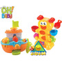 Divertidos Juegos Para Baño/agua Bebe 2 Mod. Ok Baby Jiujim