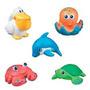 Set De 5 Animales Para Agua Munchkin Lanza Agua Juguetes