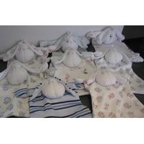 Trapito De Apego En Piyama Artesanal. Estimulo Para Tu Bebé