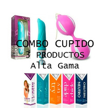 Combo Sexual Cupido + Bolas Chinas+ Lubricante Miss V