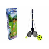 Juego Set Tenis Y Futbol Orbital Para Niños Kings Sport