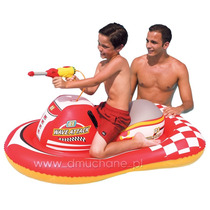 Moto Scooter Jetsky Inflable Con Pistola De Agua Bestway