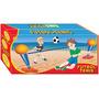 Juego Futbol-tenis Y Voley Tenisol,2 En 1 Juego Sol Playa